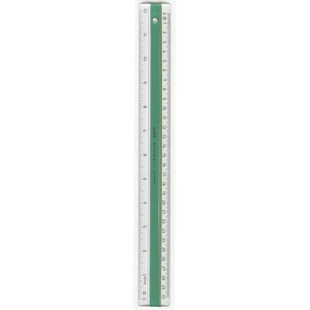 Lineal plast LINEX - med gummiskinne 20 cm S 20