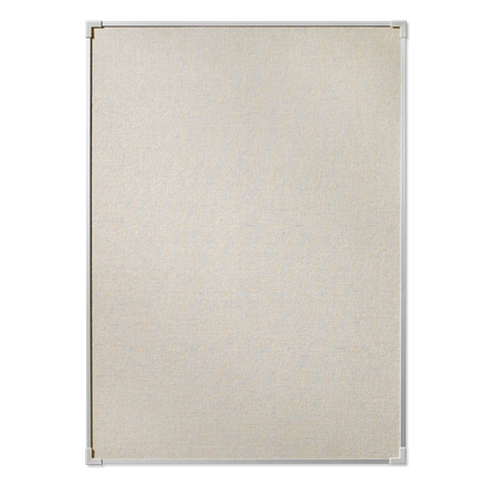 Opslagstavle Lintex Boarder 90 x 120 cm - Naturstof med aluramme