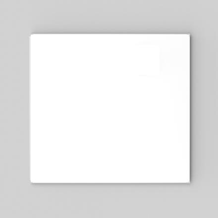 Lintex Boarder Whiteboardtavle - 120 x 120 cm med aluramme