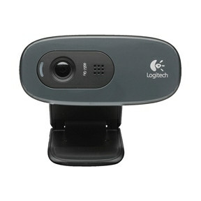 Logitech C270 HD Webcam black