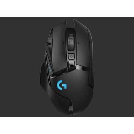 Logitech G502 LIGHTSPEED Wireless Gaming Mouse, Black