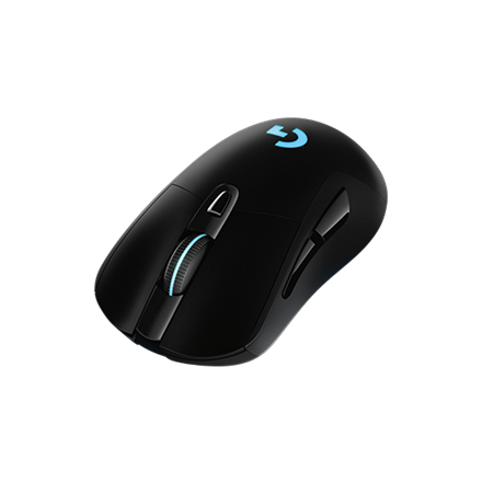 Logitech G703 Lightspeed wireless gaming mouse, Black