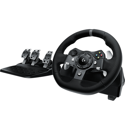 Logitech G920 Driving Force Racing Wheel (X-Box One + PC)