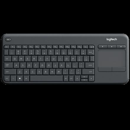 Logitech K400 PRO Wireless Touch Keyboard B2B Version, Graphite (Nord