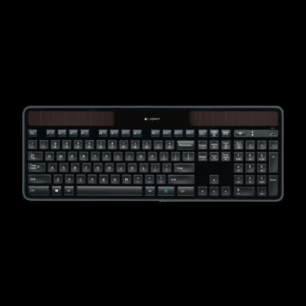 Logitech K750 Solar Wireless keyboard - Trådløs Tastatur