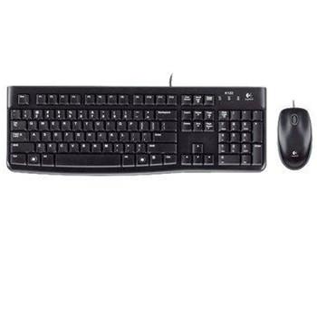 Logitech MK120 Desktop, black  (Nordic)