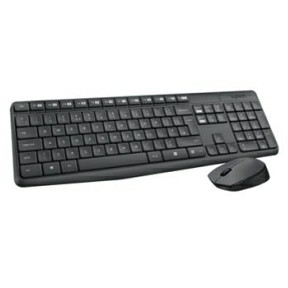 Logitech MK235 Wireless Desktop, grey (Nordic)