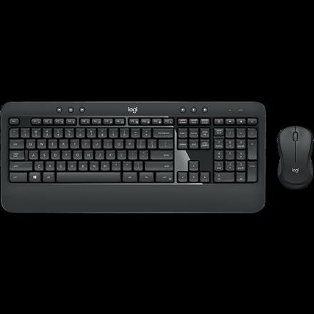Logitech MK540 Wireless Desktop Set, Black (Nordic)