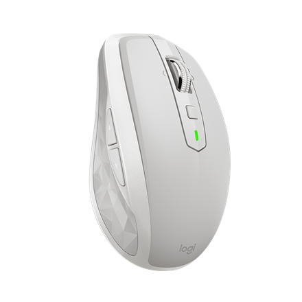 Logitech MX Anywhere 2S Wireless Mobile Mouse, Light Grey