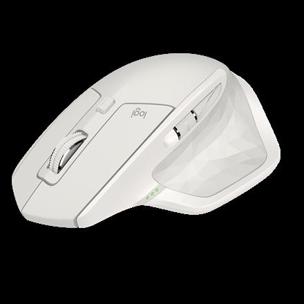 Logitech MX Master 2S Wireless Mouse, Light Grey
