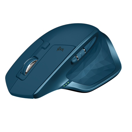 Logitech MX Master 2S Wireless Mouse, Midnight Teal
