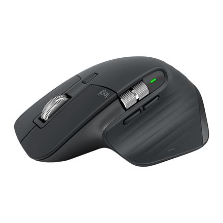 Logitech MX Master 3 Advanced Wireless Mouse, Graphite