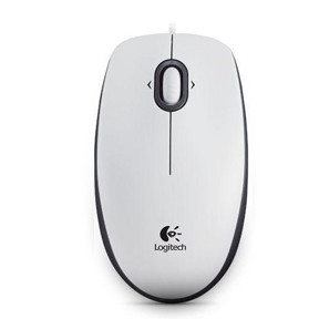 Logitech OEM - B100 Optical Mouse for Business White