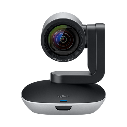 Logitech PTZ PRO 2 Conference Camera, Black/Silver