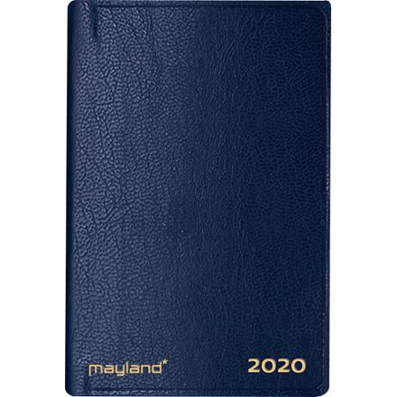 Lommekalender kunstskind blå 7x10cm tværformat 20 1620 00