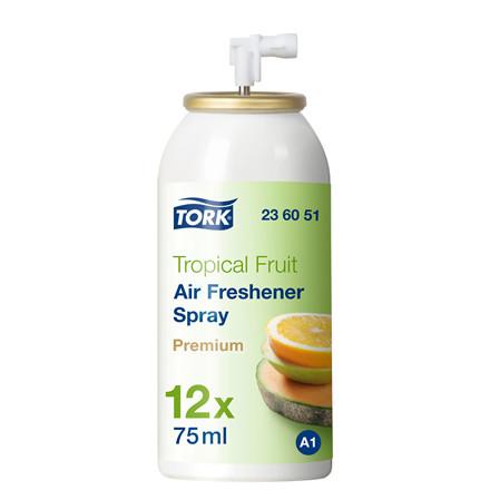 Luftfrisker Tork Airfreshner A1 spray 236051 tropisk frugt - 12 stk.