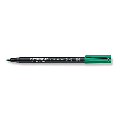 Lumocolor 317-5 - OHP-pen grøn M  0,8-1 mm permanent
