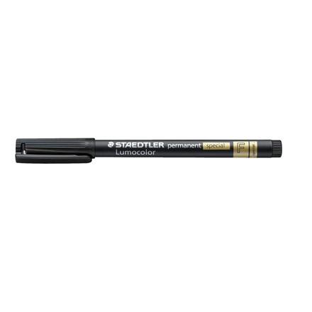 Lumocolor 319 F-9 - Special marker 0,6 mm sort permanent nano