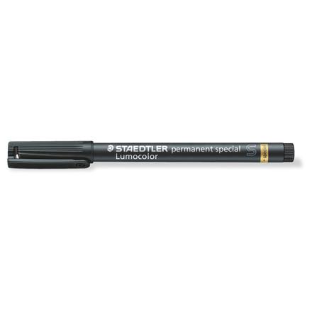 Lumocolor 319 S-9 - Special marker 0,4 mm sort permanent nano