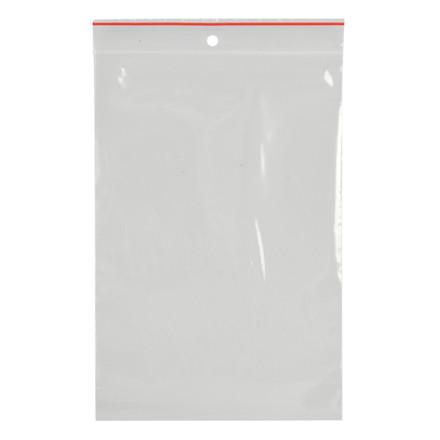 Lynlåspose, Easy-Grip, uden skrivefelt, i displayboks, LDPE, transparent, 50 my, 12x18 cm,