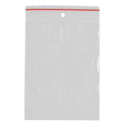 Lynlåspose, Easy-Grip, uden skrivefelt, i displayboks, LDPE, transparent, 50 my, 6x8 cm,