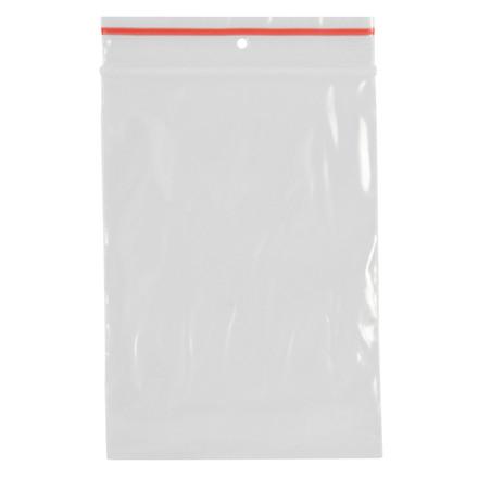 Lynlåspose, Easy-Grip, uden skrivefelt, i displayboks, LDPE, transparent, 50 my, 7x10 cm,