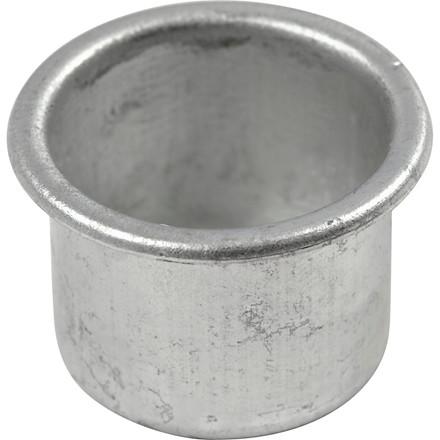 Lysmanchetter til stagelys Ø: 25 mm H: 18 mm hulstørrelse 22 mm - 12 stk