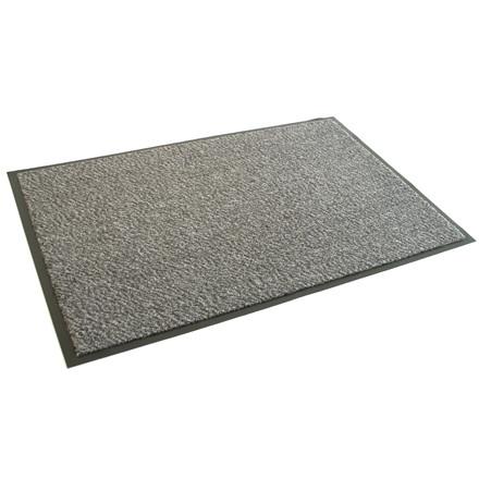 Dørmåtte 1000 Clean Carpet Classic - Lysgrå 130 x 200 cm