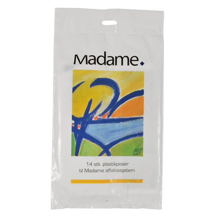 Madameposer med tryk LDPE 25 x 37 cm - 5 liter