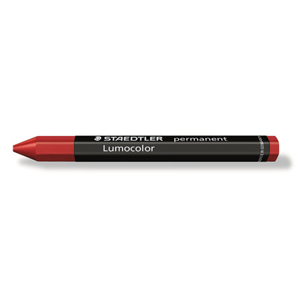 Mærkekridt Lumocolor rød 236-2 permanent