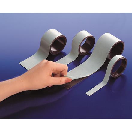 Magnetbånd brun 1,5 mm - 25 mm x 30 m almindelig