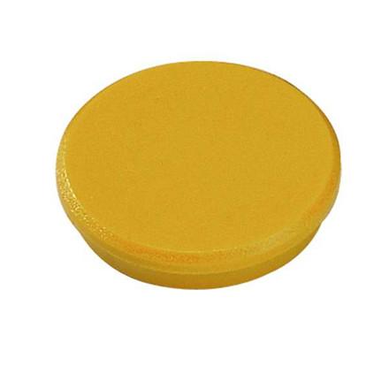 Magneter Dahle 32mm rund gul 10stk/æsk bærekraft 0,8kg