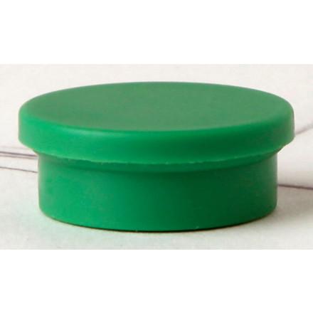 Magneter - niceday grøn Ø 2 cm 980594 - 10 stk.
