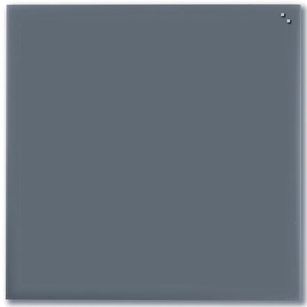 Magnetisk Glastavle - Naga 100 x 100 cm grå