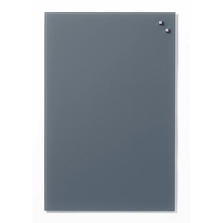 Magnetisk Glastavle - Naga 40 x 60 cm grå