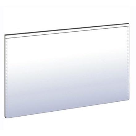 Magnetlommer - 5 x 10 cm med åbning på lang side - 10 stk i pakke