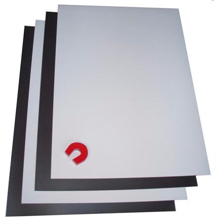 Magnetpapir - A4 til inkjet hvid mat - 20 ark