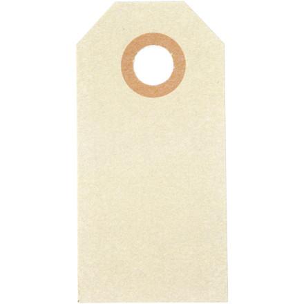 Manillamærker billige 3 x 6 cm - 30 stk.