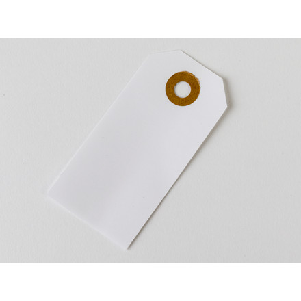Manillamærker vandfaste 4x8cm nr.52 m/patentring 1000stk/æsk