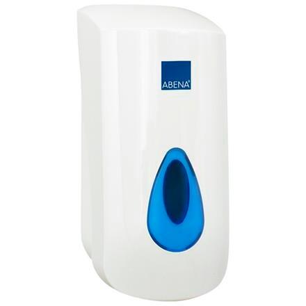 Manuel dispenser til skumsæbepåfyldning, hvid, 900 ml,