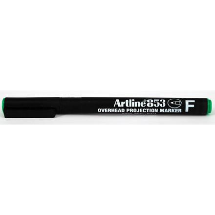 Marker Artline 853 Overhead F Perm grøn
