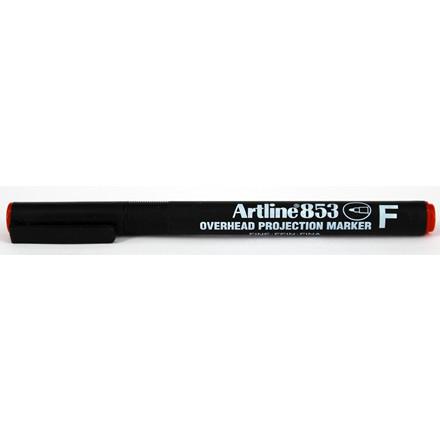 Marker Artline 853 Overhead F Perm rød