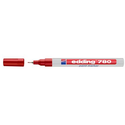 Edding 780 Permanent marker - Rød 0,8 mm