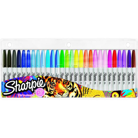 Marker Sharpie Fine 1,0mm ass (28)