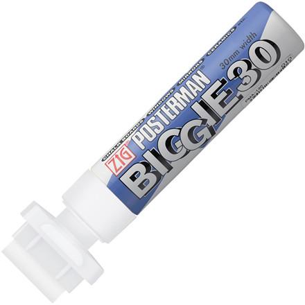 Marker ZIG Posterman B&B 30mm hvid