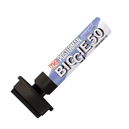 Marker ZIG Posterman Biggie 50mm sort
