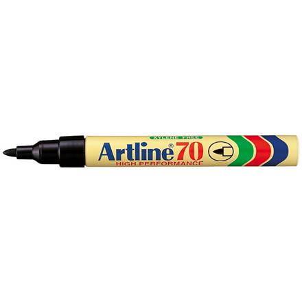 Artline EK70 Marker - Sort permanent 1,5 mm