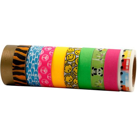 Masking Tape, B: 15 mm, 10x10m