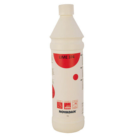 Novadan Lime 374 - Flydende maskinafkalker - 1 liter
