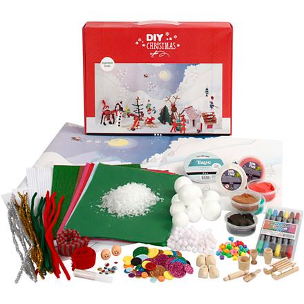 Materialesæt til julelandskab, 1sæt